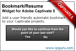 Click to read more about the Adobe Captivate Bookmark Widget