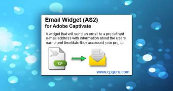 Email Widget for Adobe Captivate