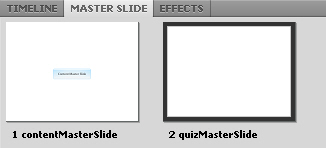 Multiple Master Slides in Adobe Captivate 5