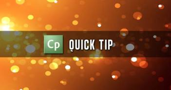 Adobe Captivate Quick Tip