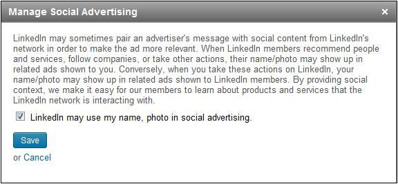 LinkedIn Social Advertising