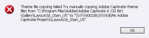Adobe Captivate 6 won't start