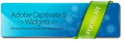 Adobe Captivate Widget Picture