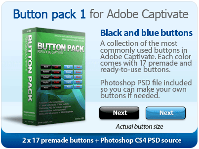 Button Pack 01 for Adobe Captivate