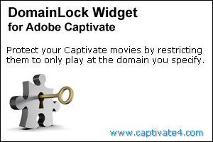 Domain Lock Widget for Adobe Captivate