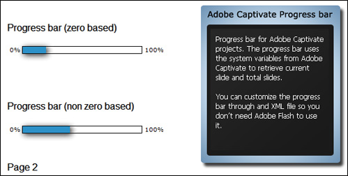 The new Captivate Progress Bar