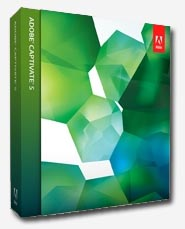 Adobe Captivate 5 box