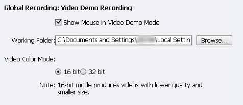 Adobe Captivate 6 Video Working folder