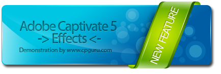 Adobe Captivate 5 - Effects
