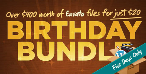 The Envato Birthday Bundle 2010