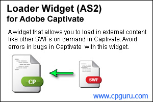 Loader Widget for Adobe Captivate 4