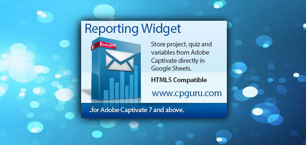 Reporting Widget for Adobe Captivate