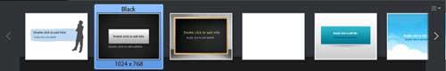 Adobe Captivate 6 Themes bar