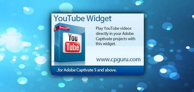 YouTube Widget for Adobe Captivate | CP Guru - Adobe Captivate Widgets